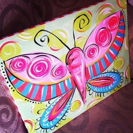 Canvas Painting Camp For Kids Canton Woodstock Ga
